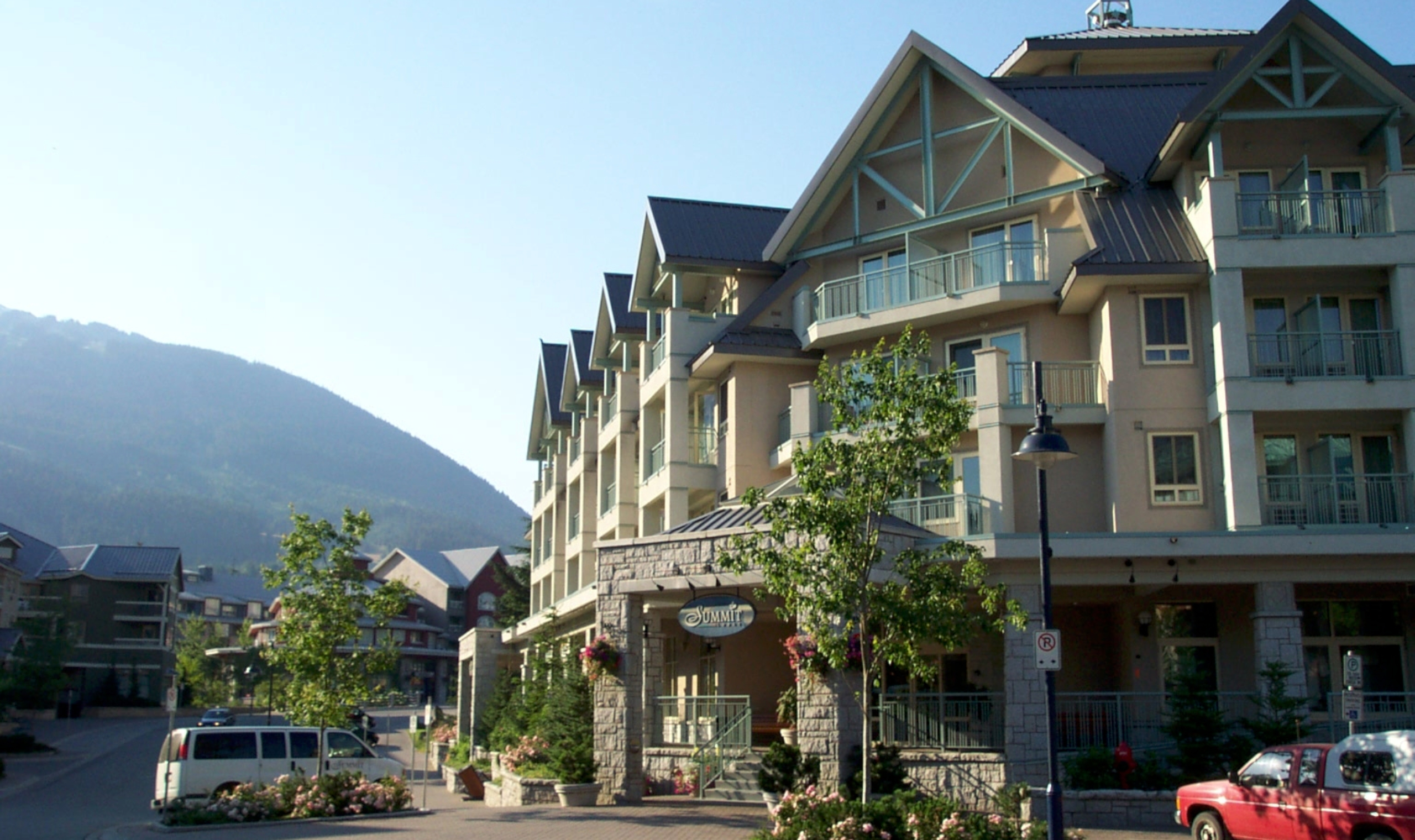 Exterior: Summit Lodge - Whistler