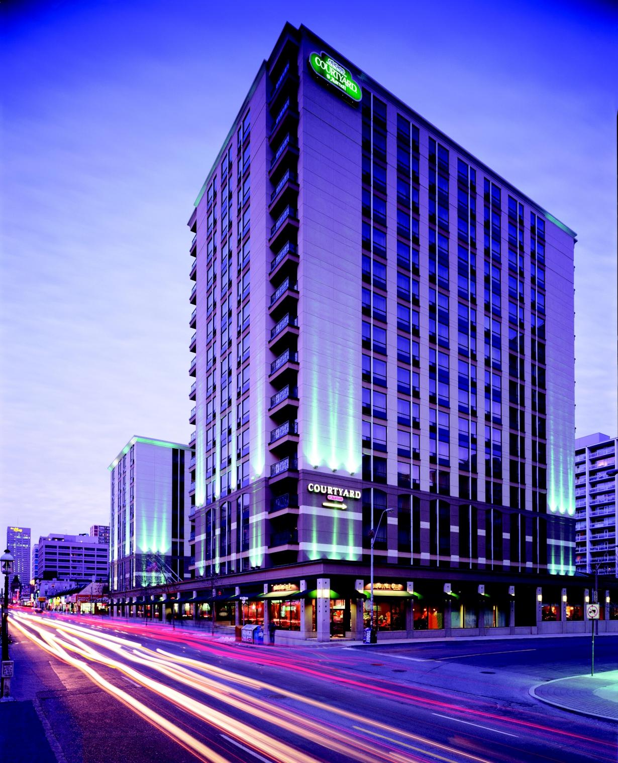 Courtyard Marriott Hotel Yonge Street Toronto