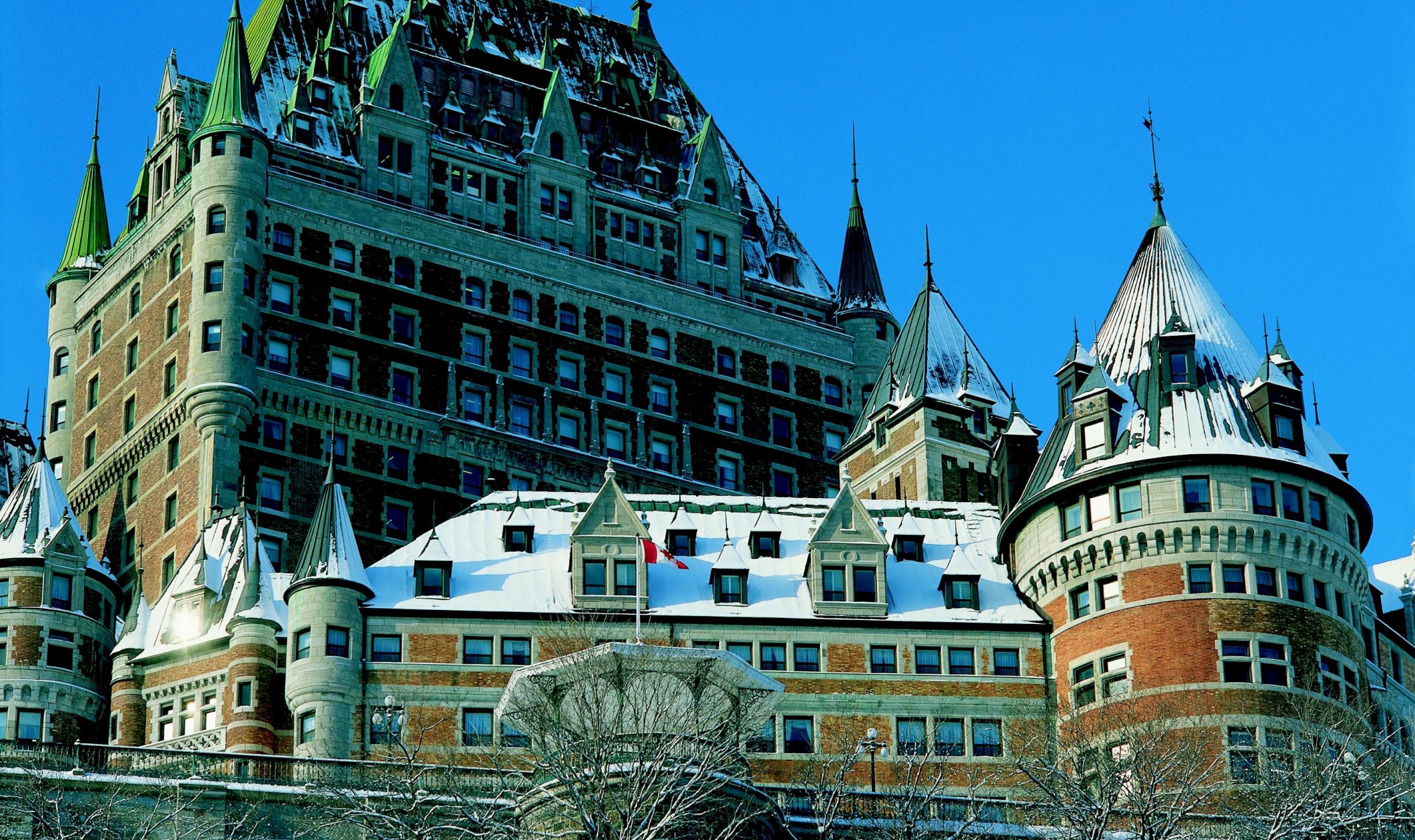 Fairmont Le Chateau Frontenac Quebec City Canadian Affair