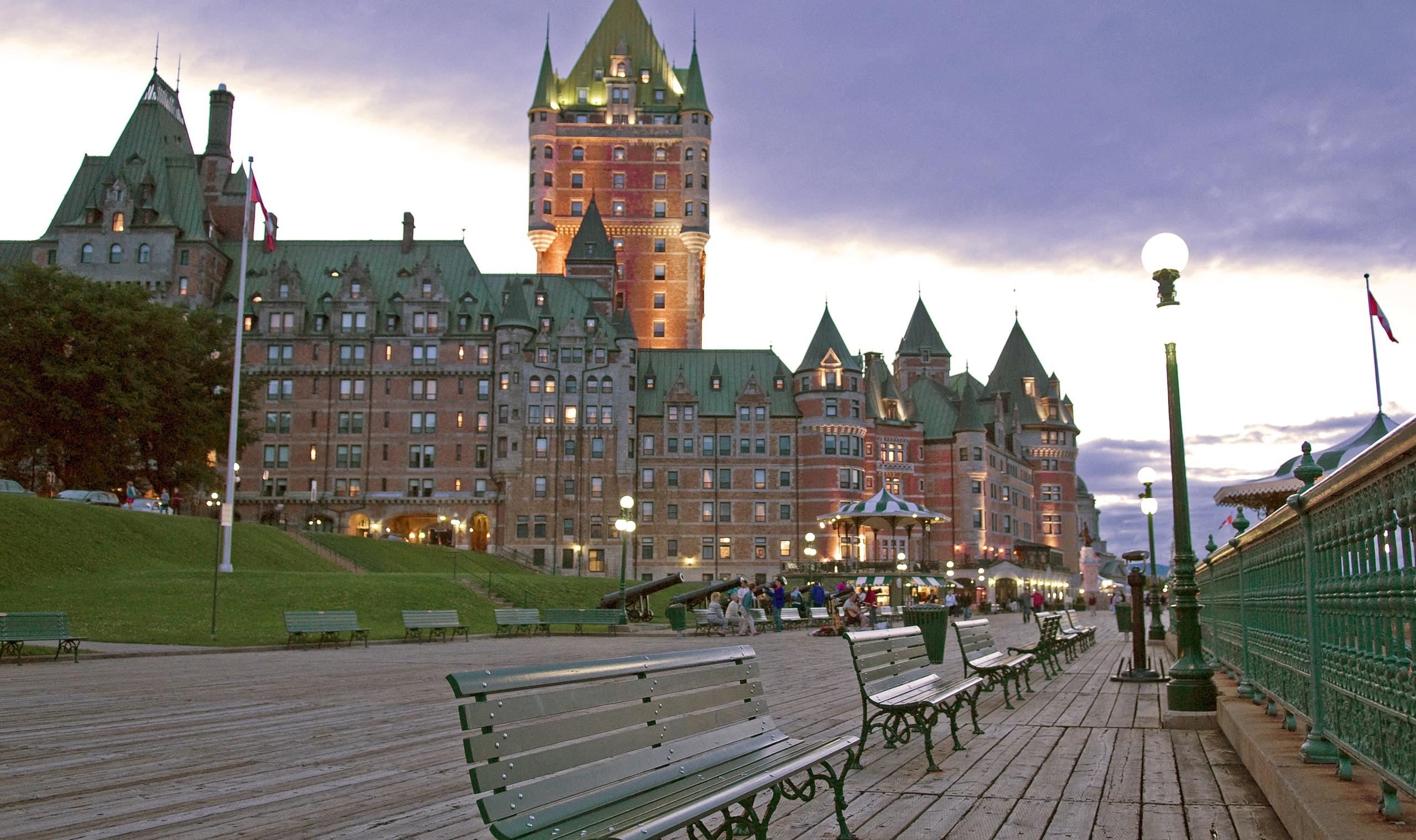 Chateau Frontenac Hotel - Quebec, Canada   Frontenac hotel