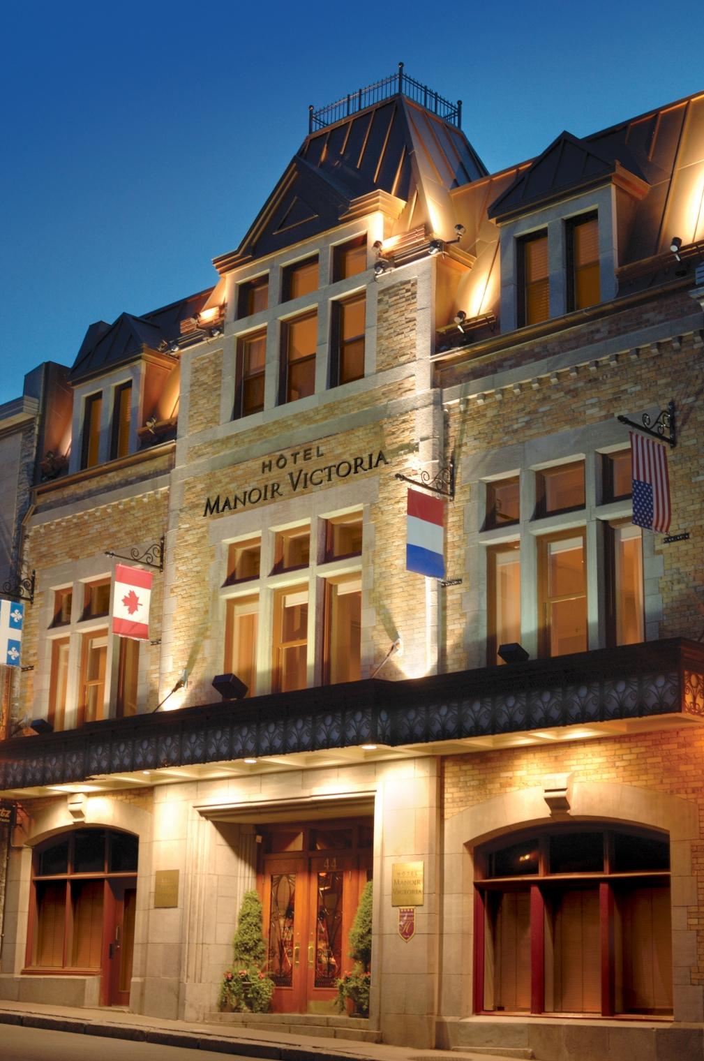 Hotel manoir victoria quebec city canadian affair for Design hotel quebec