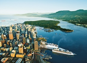 pacific coast cities and alaska cruise
