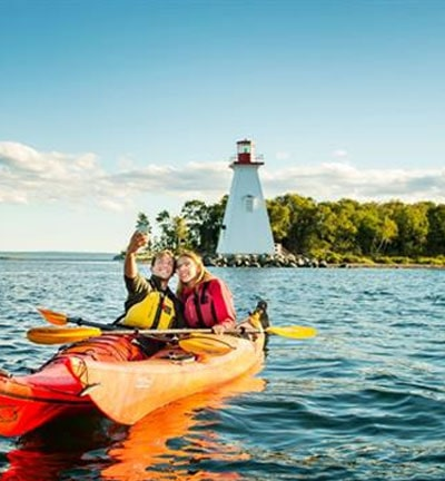 Lighthouse and Hidden Treasures of Nova Scotia