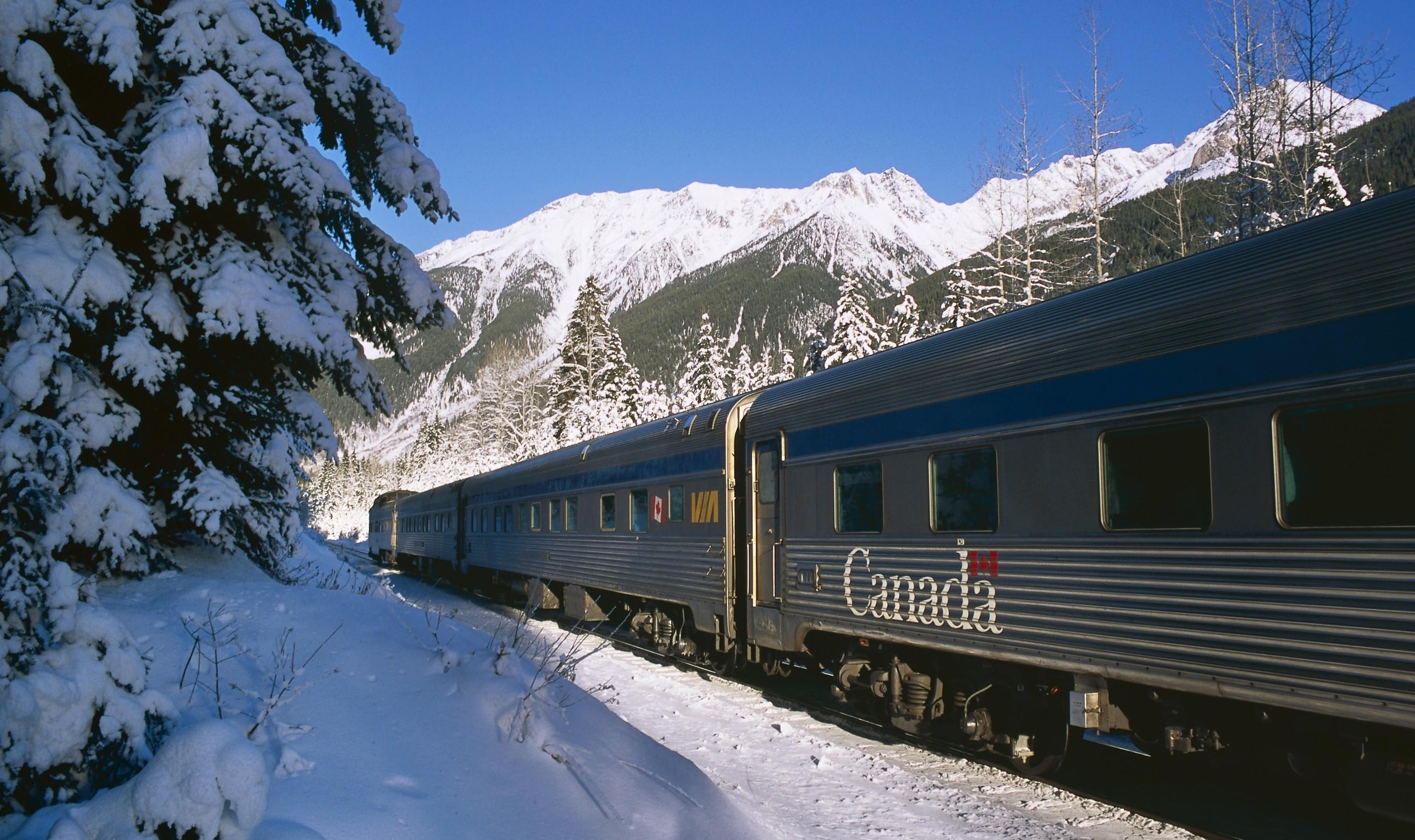 Rockies Winter Rail Holiday