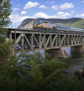 rail and cruise in eastern canada