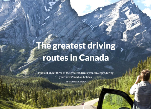 greatest drives in canada