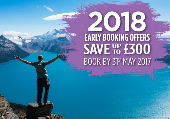 2018 early booking offers