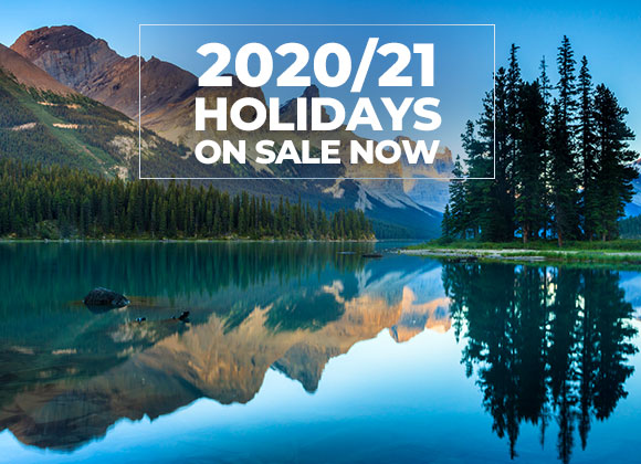 2020/21 Holidays on sale now