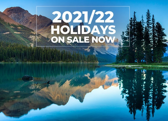 2021/22 Holidays on sale now