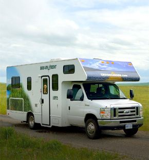 CruiseCanada C25 motorhome holiday