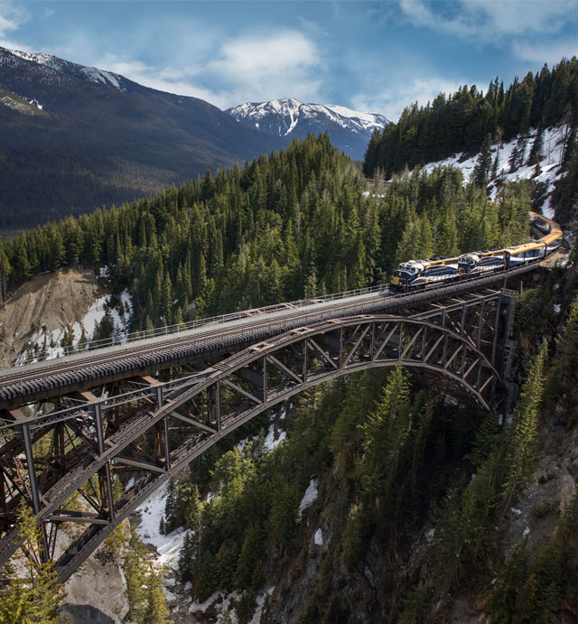 Alaska cruise and Rocky Mountaineer holiday