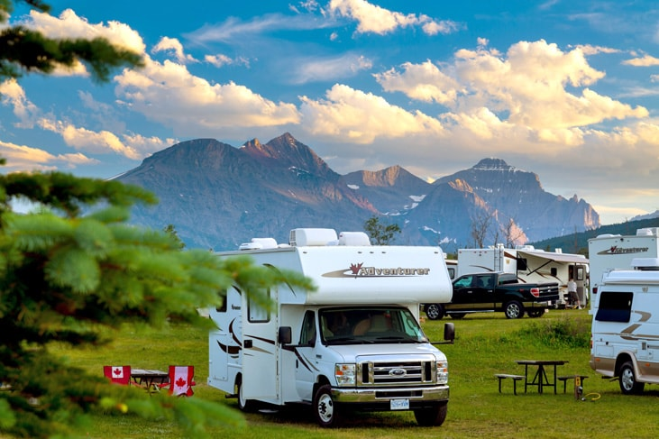 campervan holidays in canada and the rockies