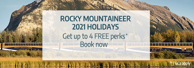 Rocky Mountaineer 2021 offer