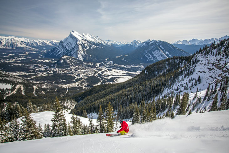 ski holidays in banff and lake louise