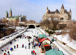 east canada winter holidays