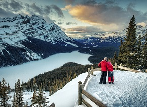 west canada winter holidays