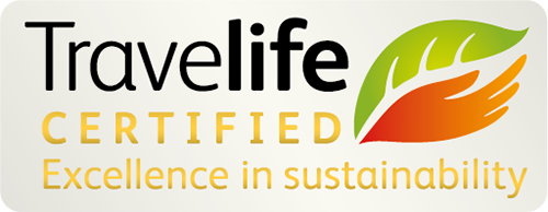 Travellife Certified - Excellence in Sustainability