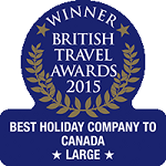 2015 - Winner Best Holiday Company to Canada (Large)