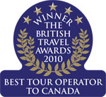 2010 - Best Tour Operator to Canada