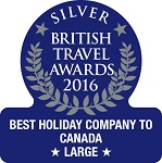 2016 - Silver Best Holiday Company to Canada (Large)