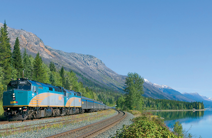 via rail trans canada train
