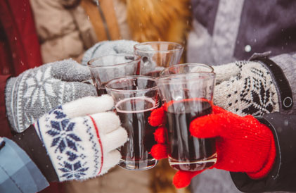 mulled wine in tremblant