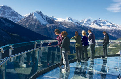 glacier skywalk icefields parkway
