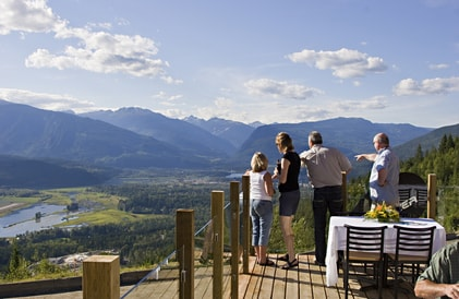 lookout at revelstoke
