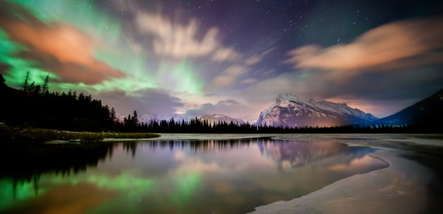 Northern Lights in Banff