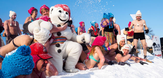 Quebec Carnaval by Simon Armstrong