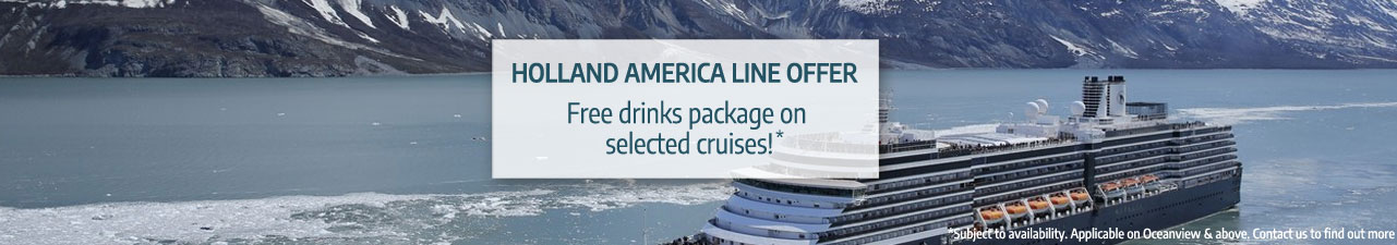 Holland America Line offer