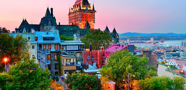 Quebec City is stunning