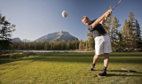 Go golfing in Banff