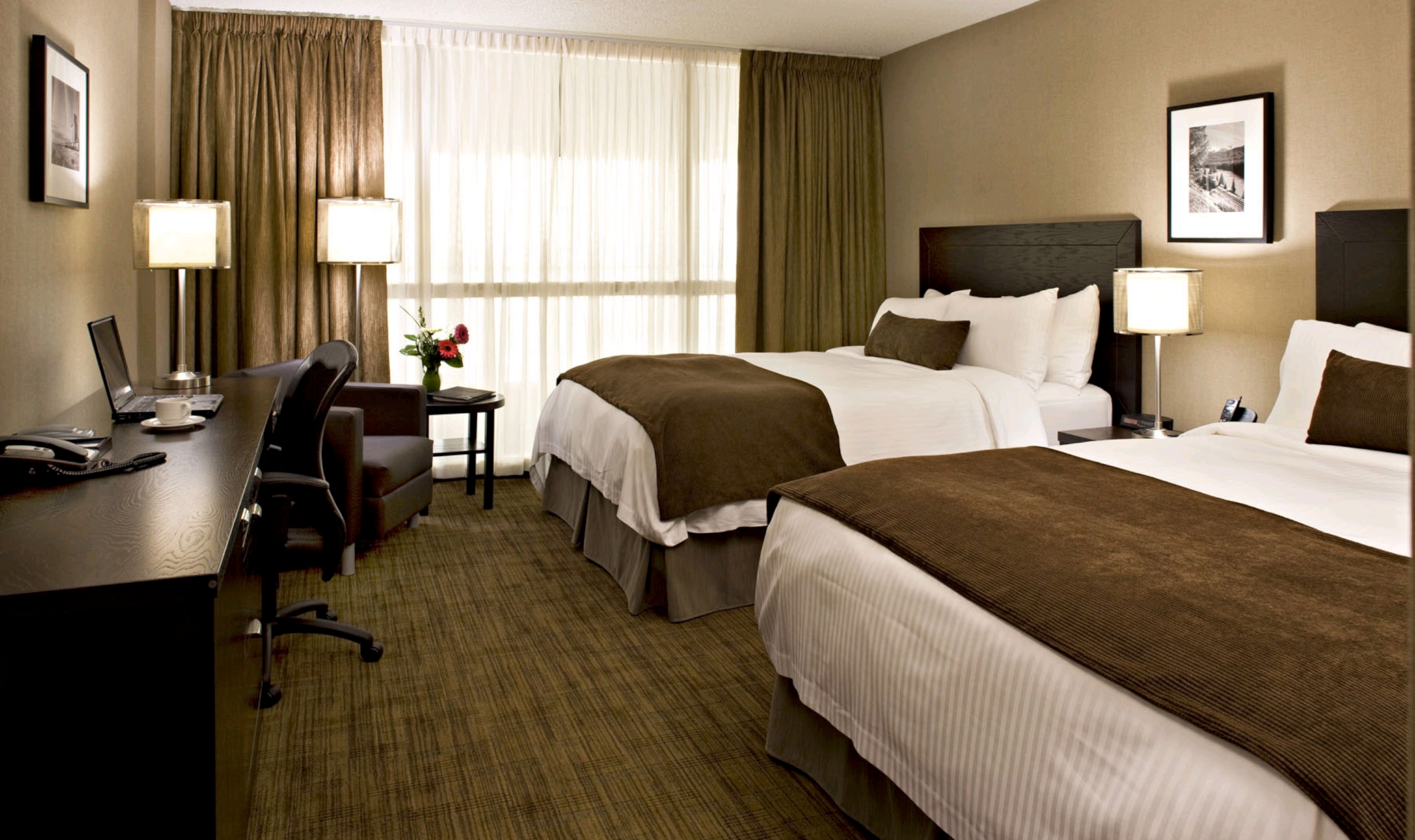 delta hotels by marriott calgary airport in terminal. Black Bedroom Furniture Sets. Home Design Ideas