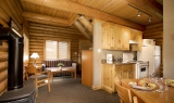 Executive Log Cabin Kitchen
