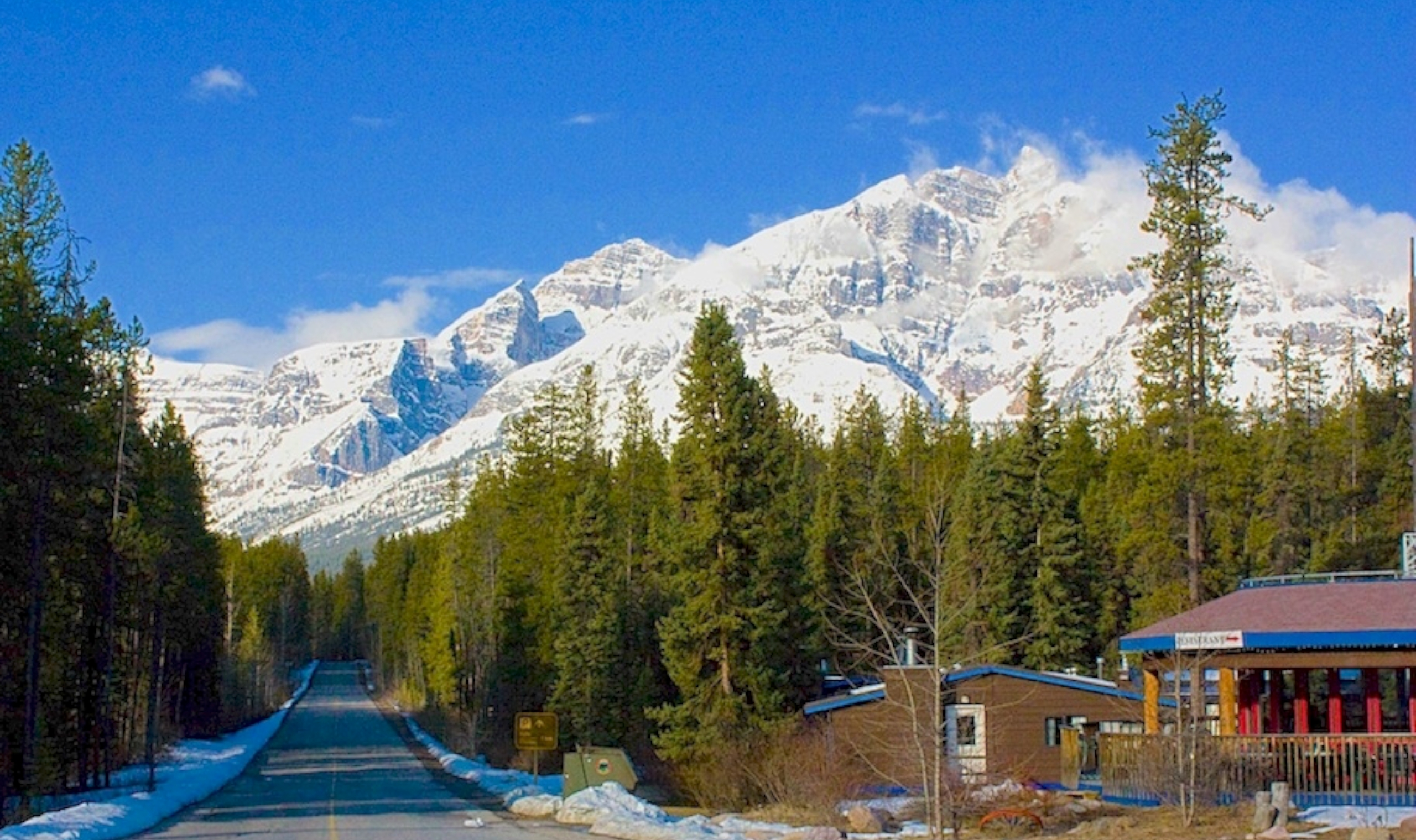 Sunwapta Falls Rocky Mountain Resort Jasper Canadian