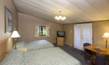 Two Double Beds Bedroom