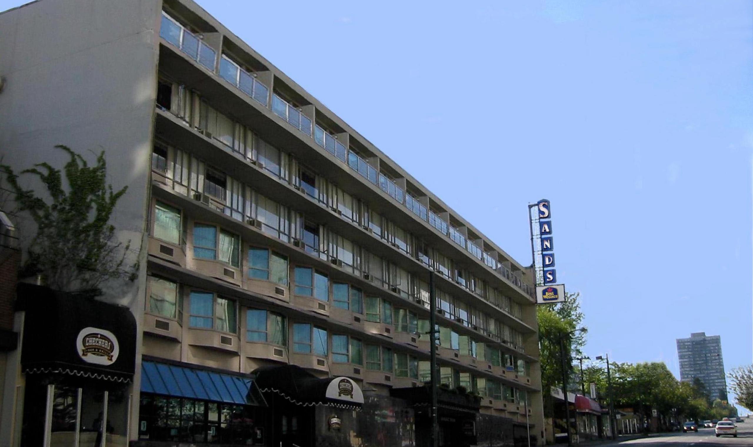 Best Western Hotel Vancouver Davie Street