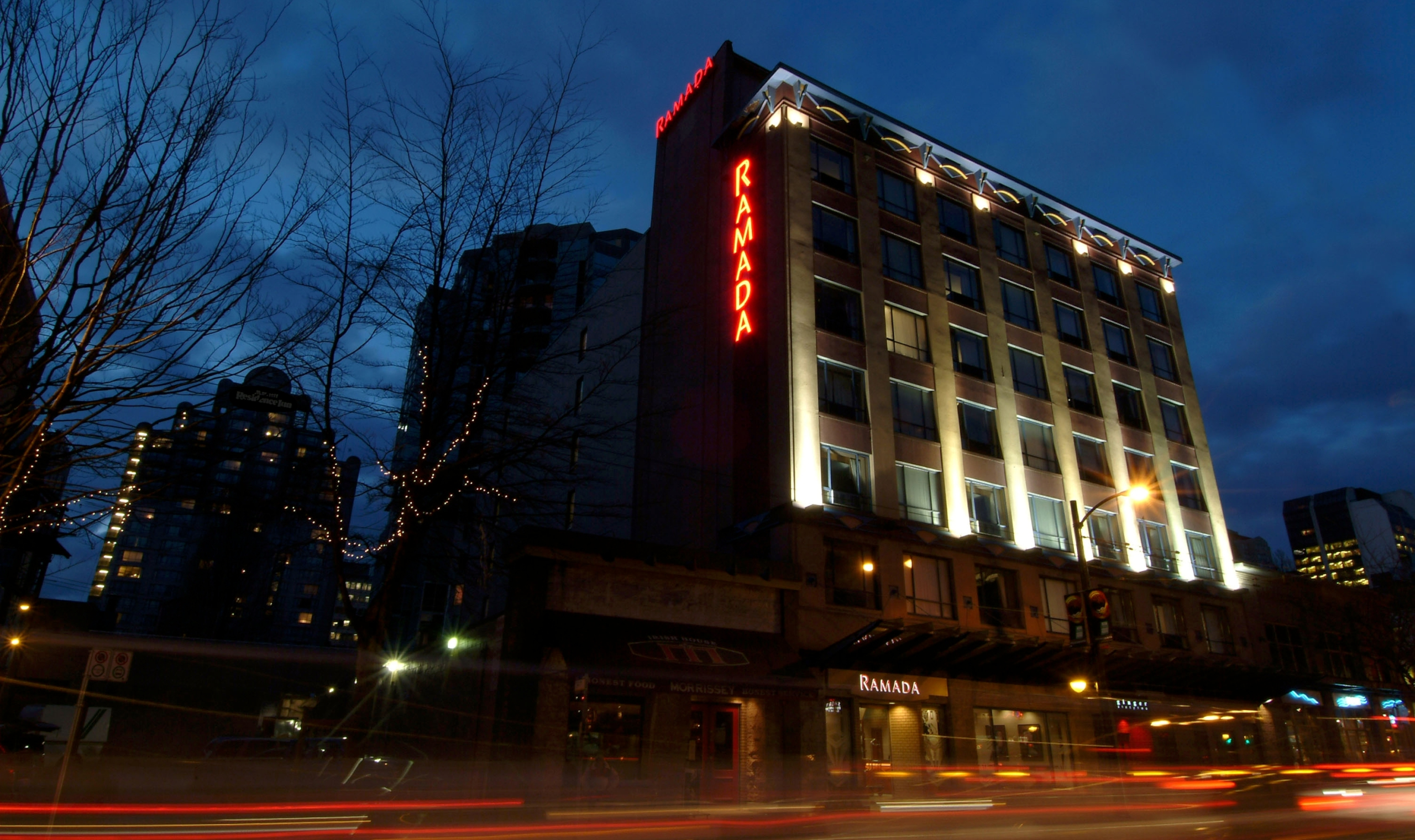 Hotels On Granville St Vancouver Bc