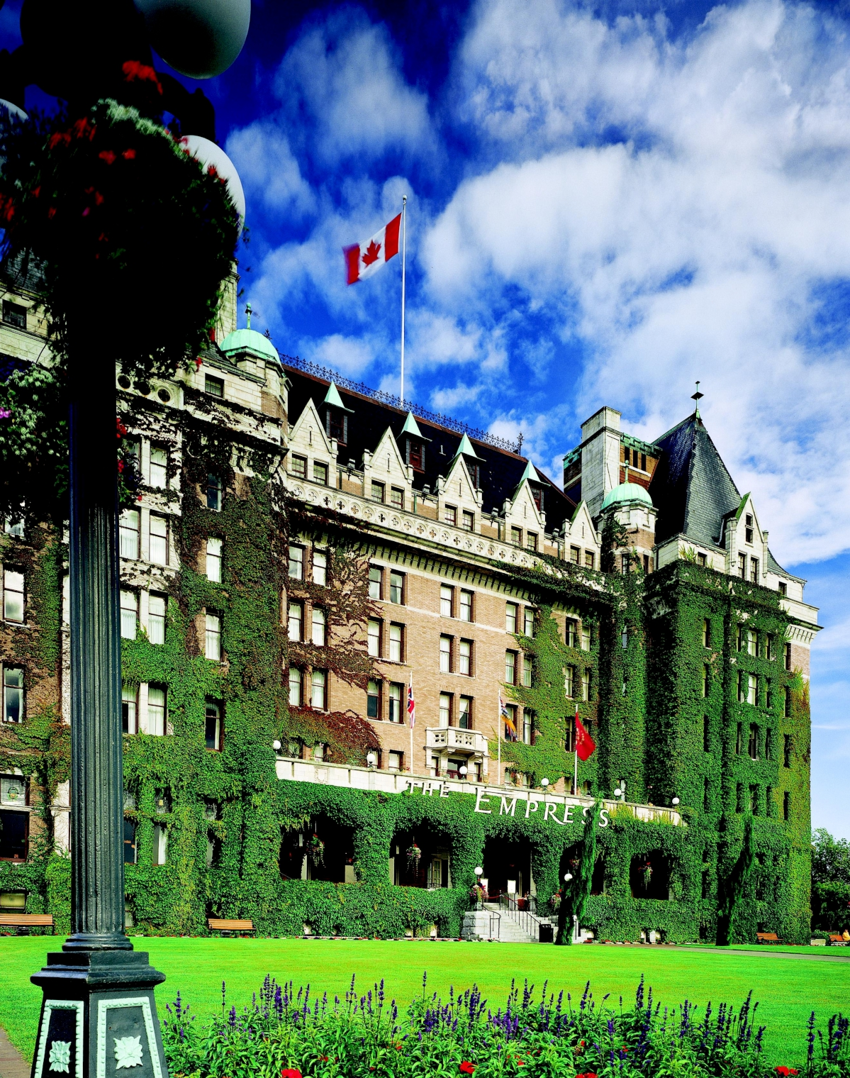 Fairmont Empress Victoria Canadian Affair