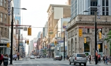 Yonge Street in downtown Toronto
