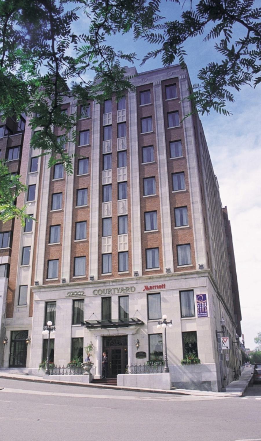 Quebec city marriott downtown quebec city canadian affair for Design hotel quebec city