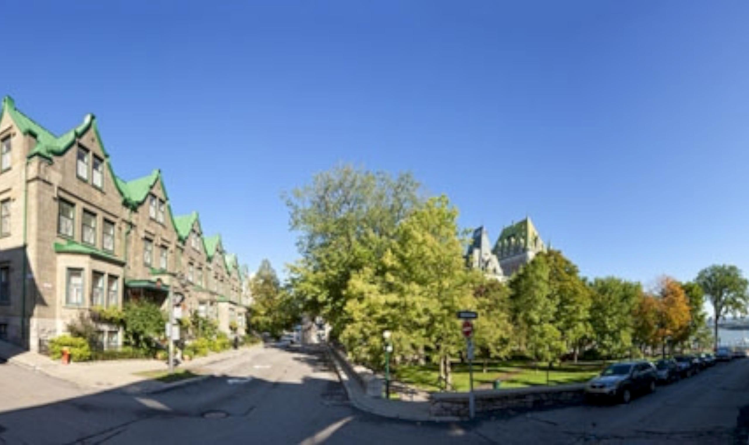 Hotel Chateau Bellevue Old Quebec