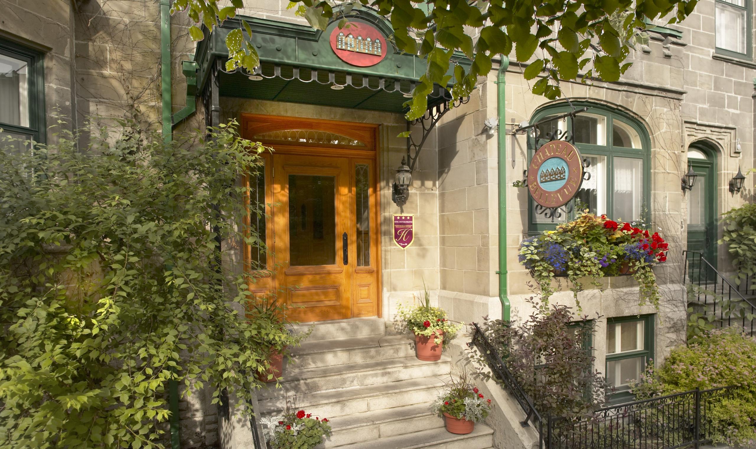 Hotel chateau bellevue quebec city canadian affair for Design hotel quebec city